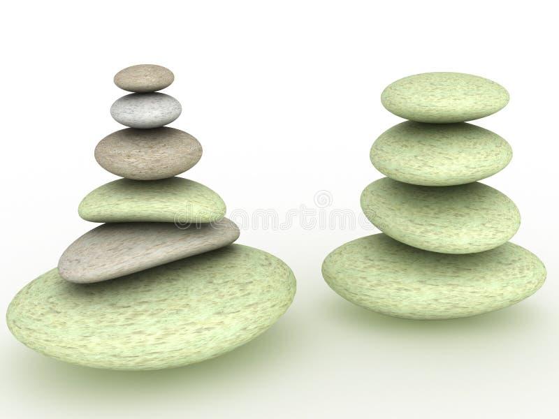 Download Pietre rotonde ?2 illustrazione di stock. Illustrazione di minerale - 30825840