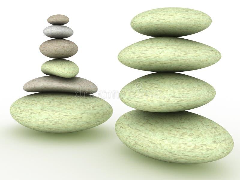 Download Pietre rotonde ?3 illustrazione di stock. Illustrazione di roccia - 30825841