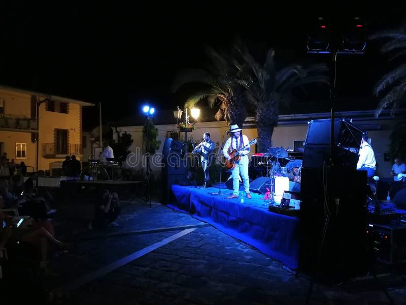 """Pietrelcina - Dr. Jazz een """"Jazzsotto le stelle† royalty-vrije stock afbeelding"""