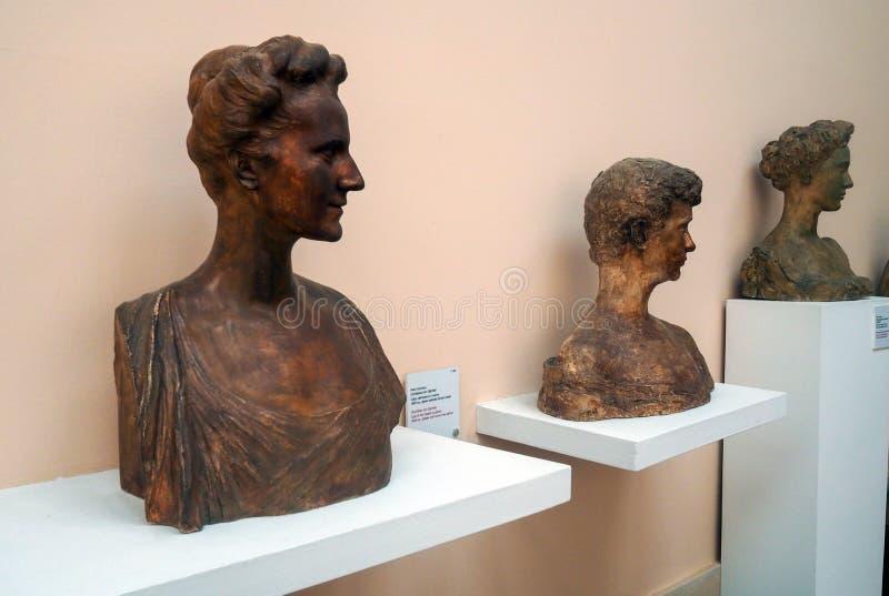 Pietro Canonica muzeum w willi Borghese ogródach w Rzym, Włochy zdjęcie royalty free