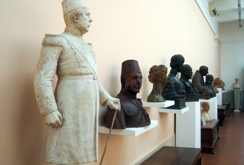 Pietro Canonica muzeum w willi Borghese ogródach w Rzym, Włochy zdjęcia stock