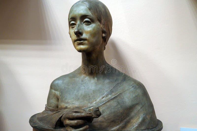Pietro Canonica muzeum w willi Borghese ogródach w Rzym, Włochy obraz royalty free