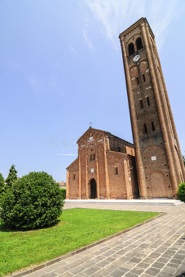 Download Pieve di Coriano (Mantua) stock photo. Image of catholic - 28558674