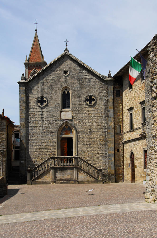 Pieve St Mary dans Pietralunga photos libres de droits