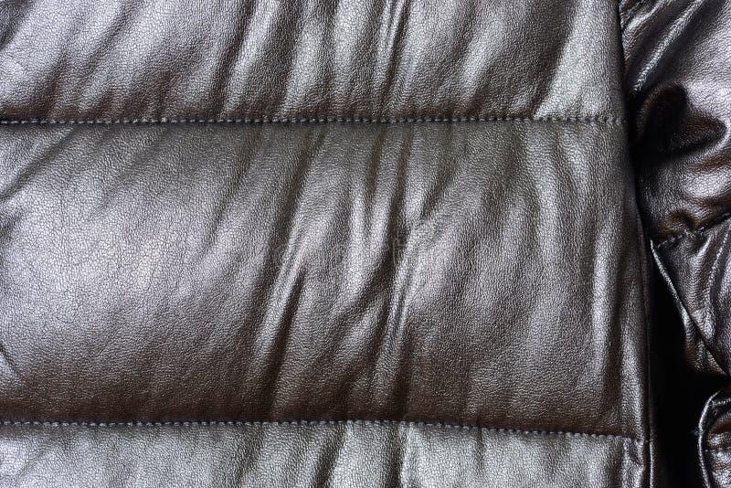 Pieza abajo de una chaqueta plateada outerwear Ropa de moda 2017-2018 imagen de archivo