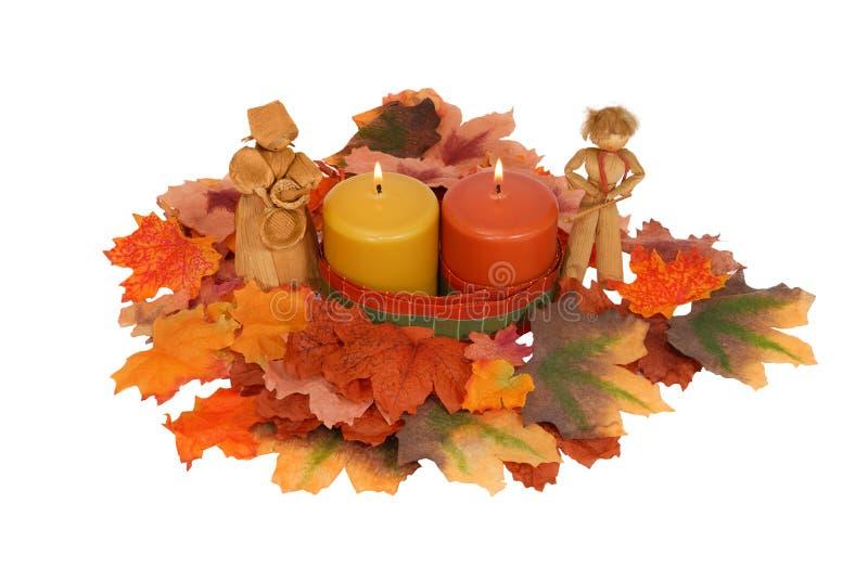 Pieza central del otoño fotos de archivo