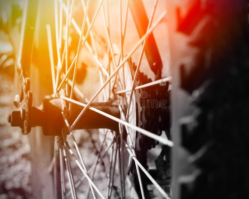 Pieza de la bici de montaña fotos de archivo