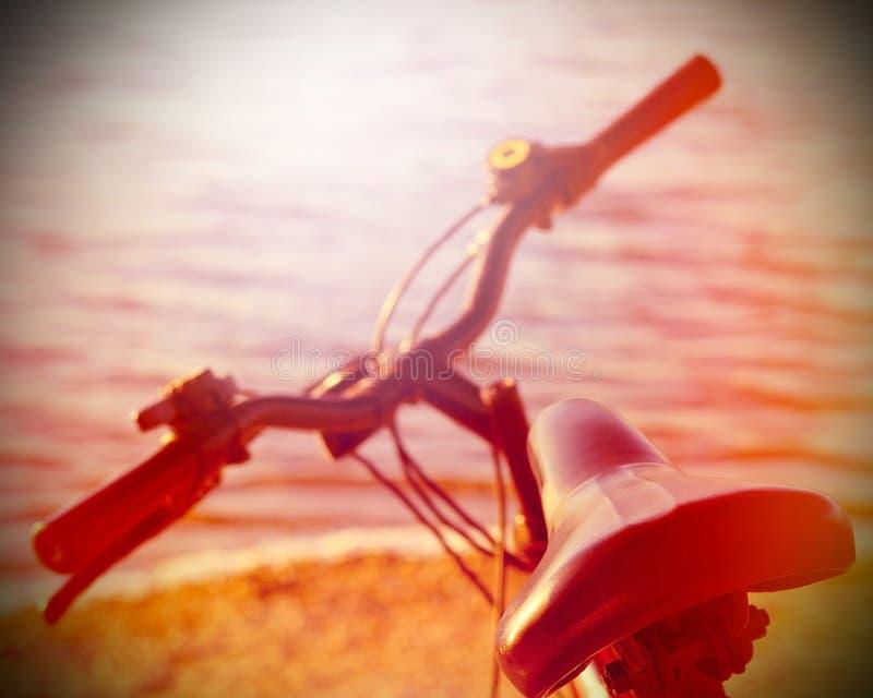 Pieza de la bici de montaña imagen de archivo libre de regalías