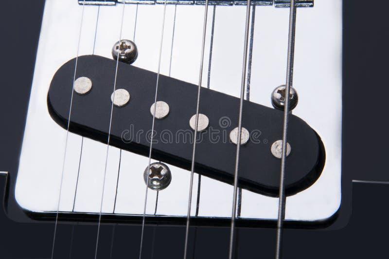 Pieza de la guitarra eléctrica fotografía de archivo