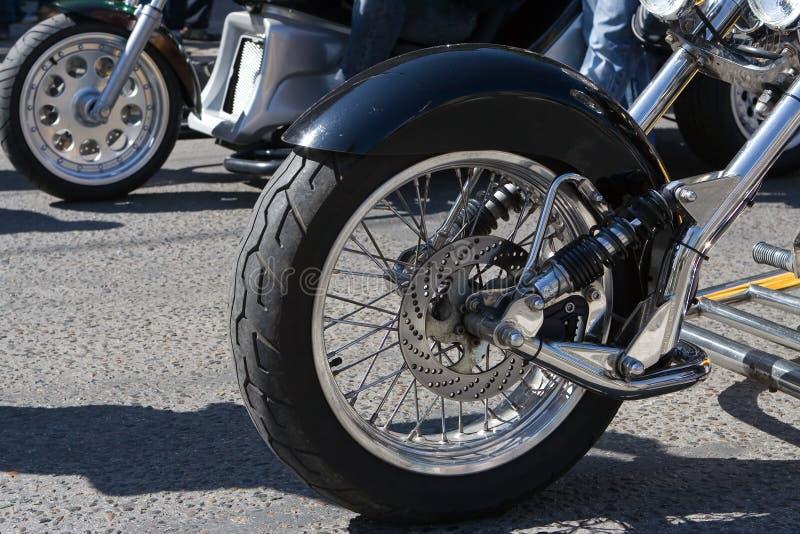 Pieza de la motocicleta imágenes de archivo libres de regalías