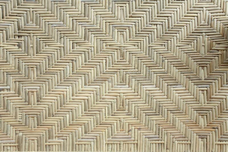 Pieza de mimbre de bambú de muebles clásicos fotografía de archivo