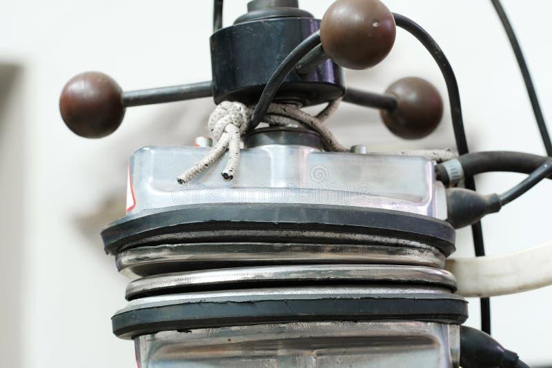Pieza de una máquina de la vulcanización fotos de archivo