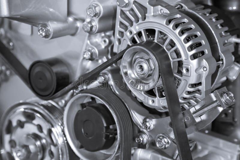 Pieza del motor de coche imágenes de archivo libres de regalías