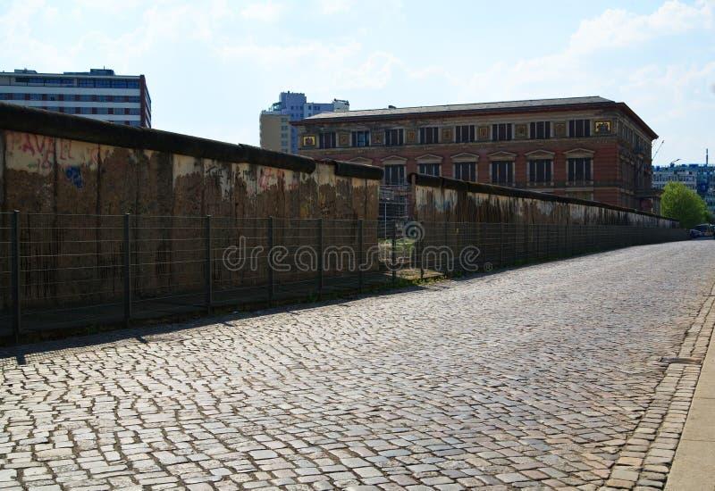 Pieza del muro de Berlín foto de archivo libre de regalías