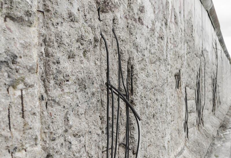 Pieza del muro de Berlín imagen de archivo libre de regalías