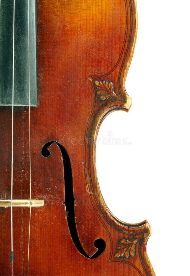 Pieza del violín fotografía de archivo