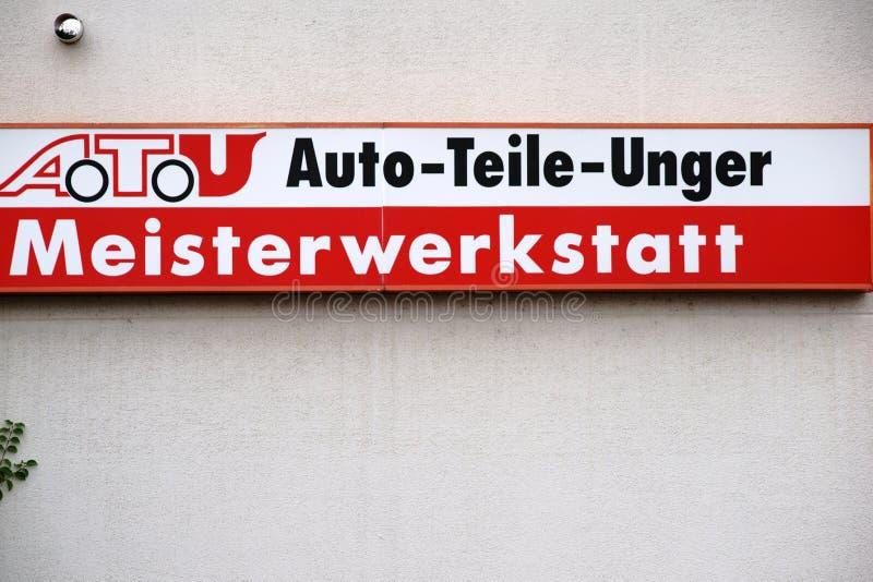 Piezas de automóvil Unger fotografía de archivo libre de regalías