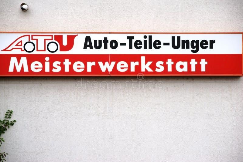 Piezas de automóvil Unger foto de archivo