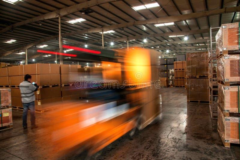 Piezas de automóvil Warehouse de Chongqing Minsheng Logistics Chongqing Branch fotos de archivo