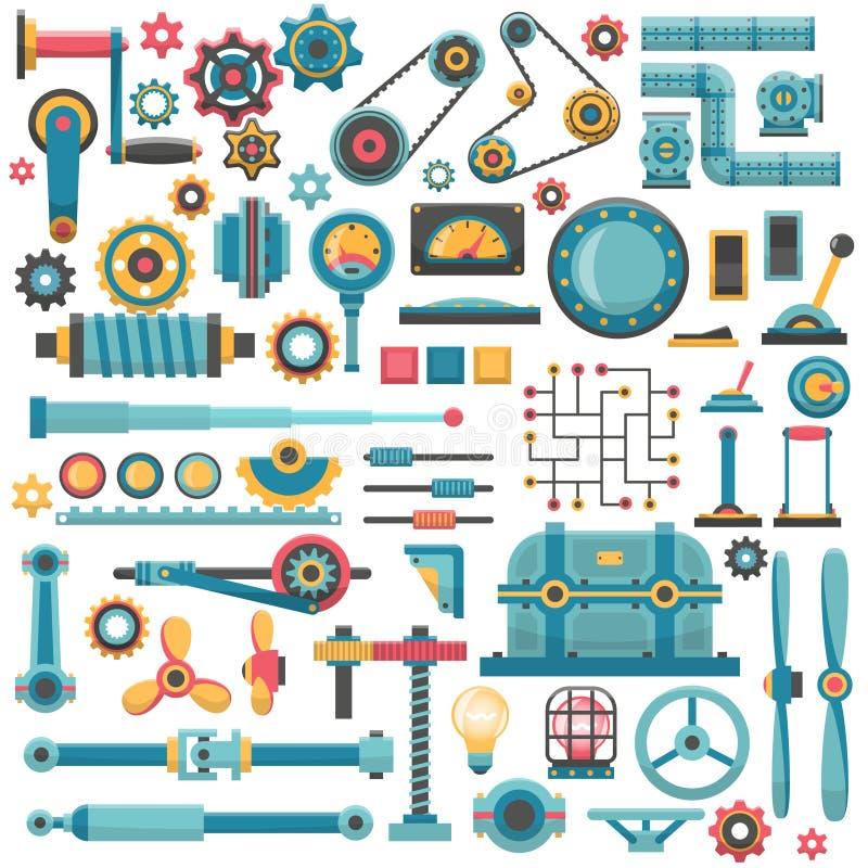 Piezas de maquinaria libre illustration