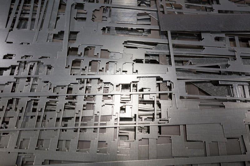 Piezas de metal fotos de archivo libres de regalías