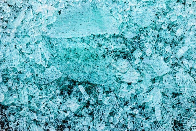 Piezas de vidrio de integración mental foto de archivo