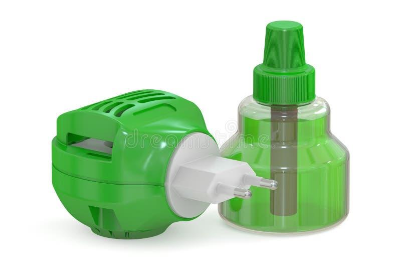 piezas del fumigator del Anti-mosquito stock de ilustración