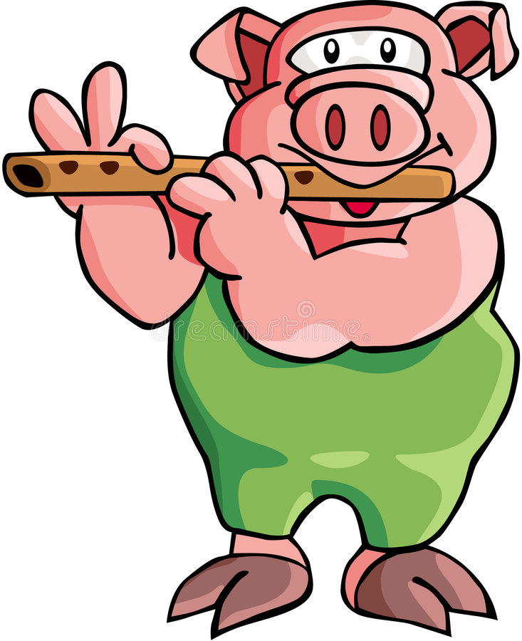 Download Pig stock illustration. Image of farms, illustrations - 1423557