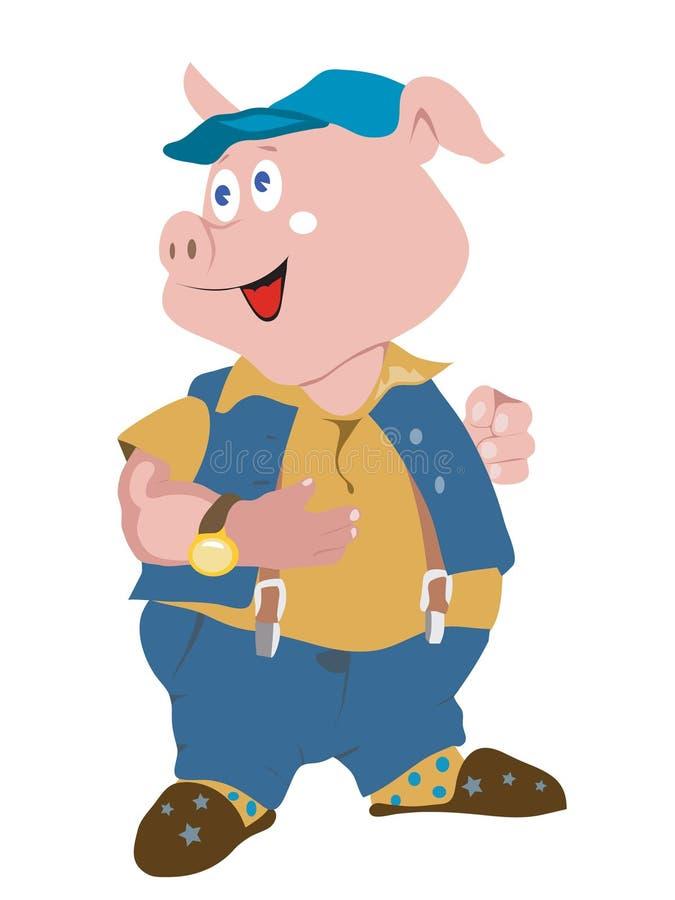 Download Pig stock vector. Image of creativ, animal, invitation - 16089640