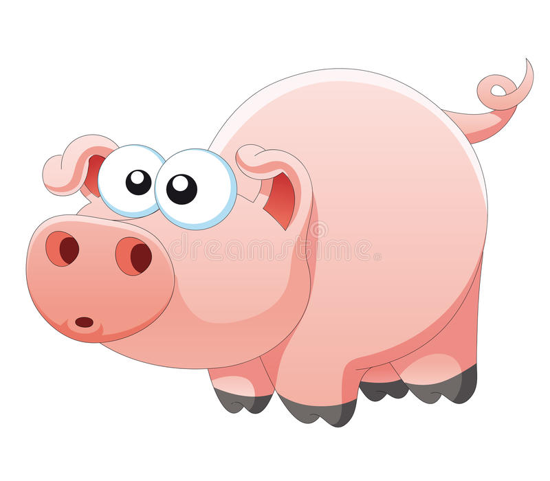 Download Pig stock vector. Image of nature, smile, eyes, element - 28731132
