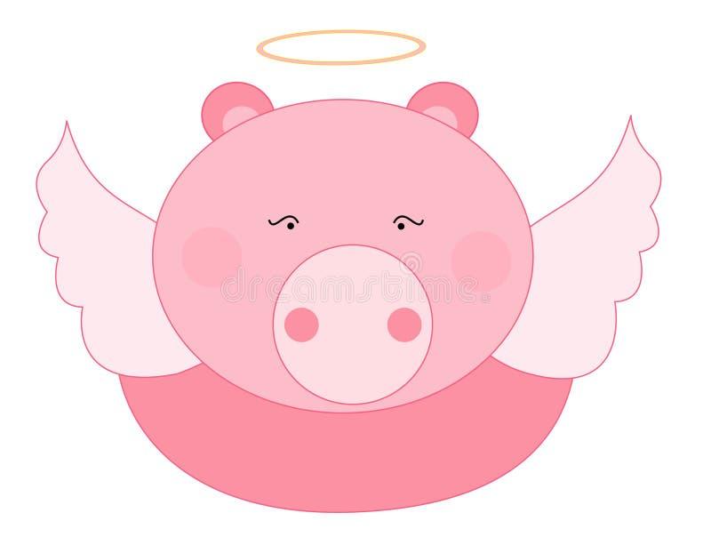 Download Pig angel stock vector. Image of life, illustration, animals - 19232162