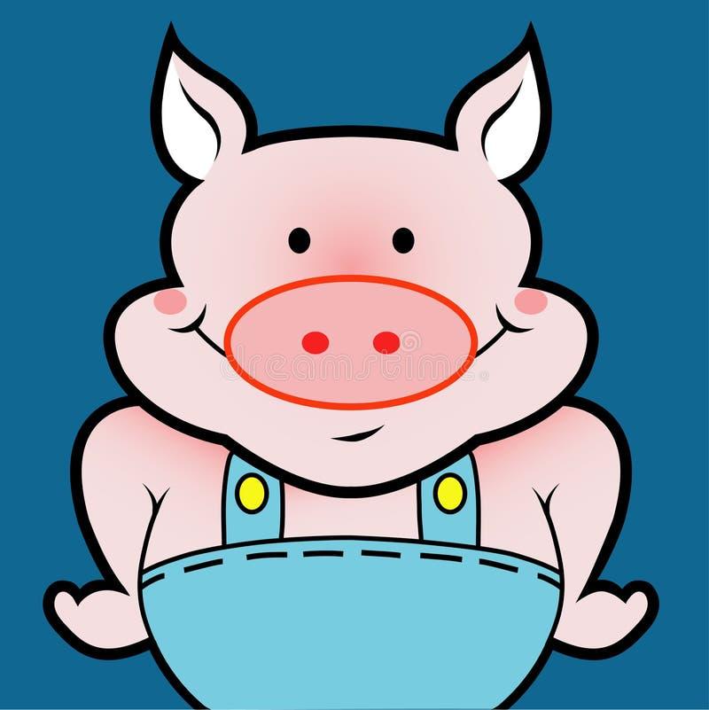 Pig avatar stock photos