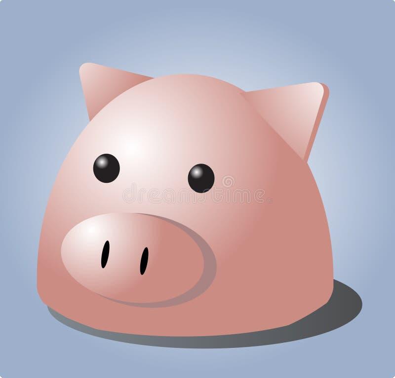 Download Pig cartoon stock vector. Image of porky, piglet, adorable - 1748091