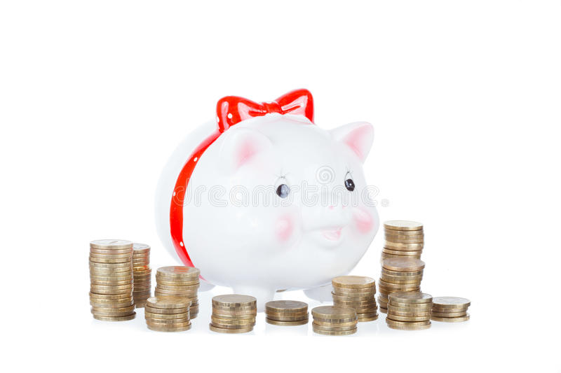Pig-coin Box Stock Photography