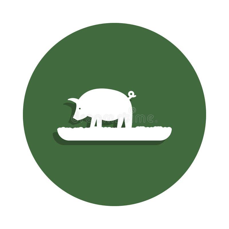Animal Farm Collection Vintage Badge Stock Vector