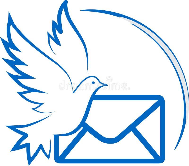 Pigeon royalty free illustration