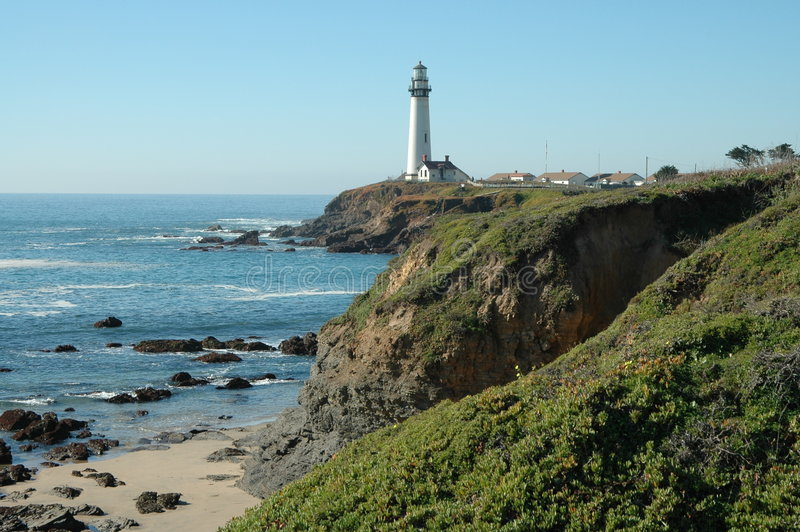 Download Pigeon Point Lighthouse stock photo. Image of coast, pacific - 157638