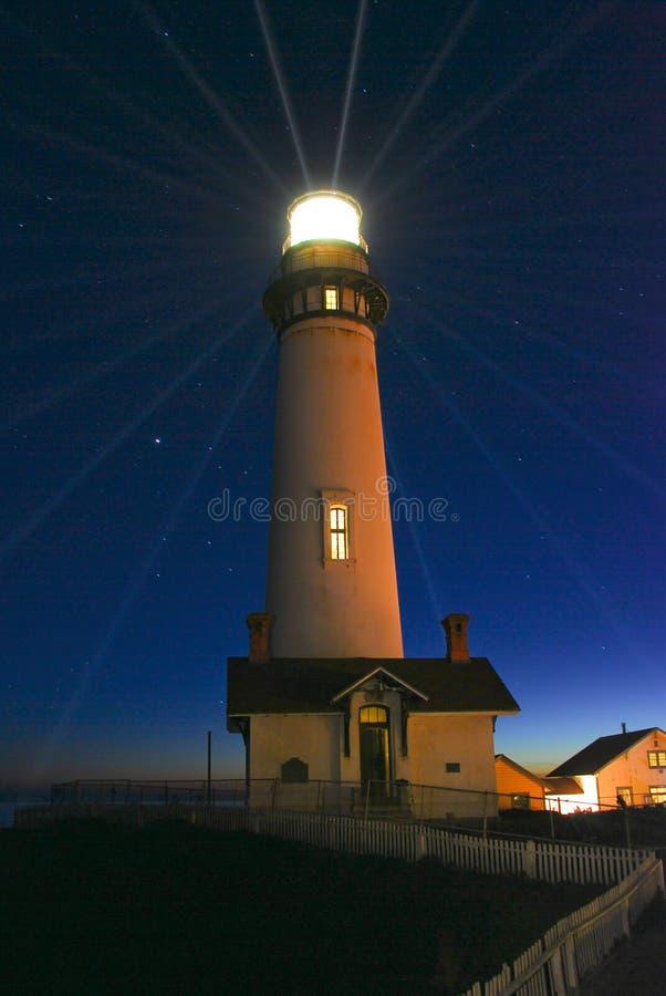 Free Pigeon Point Lightstation Stock Photo - 7862080