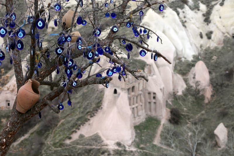 Pigeon valley. Guvercinlik Valley in Cappadocia, Turkey stock images