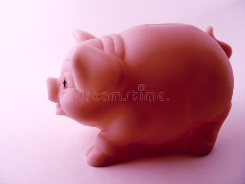 Download Piggy πλάγια όψη τραπεζών στοκ εικόνα. εικόνα από εκτελεστικός - 85349