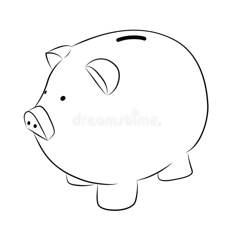 Piggy банк иллюстрация вектора