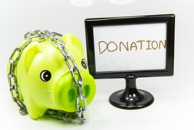 Piggy сбережения в будущем стоковая фотография