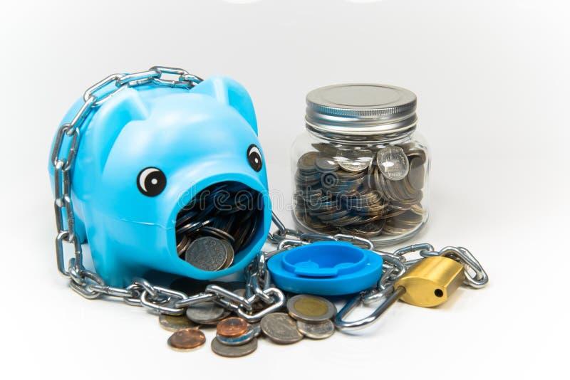 Piggy сбережения в будущем стоковое изображение rf