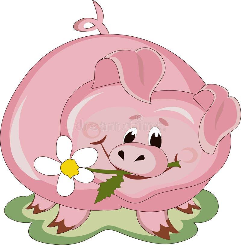 Piggy vektor abbildung