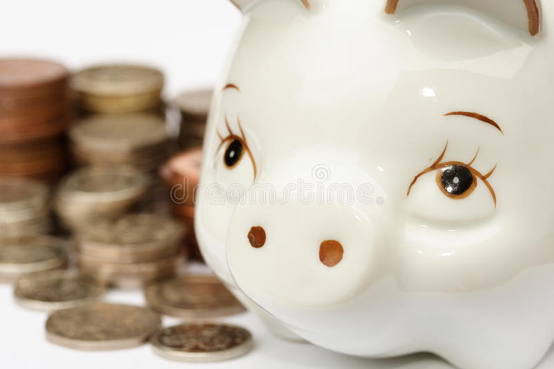 Download Piggy Bank stock image. Image of fortune, economy, euros - 10369415