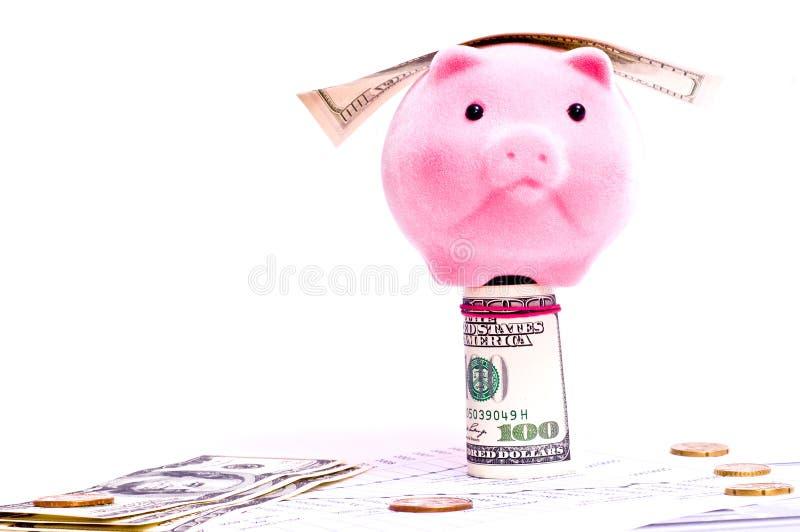 Download Piggy bank stock photo. Image of dollar, nickel, ceramics - 13401596
