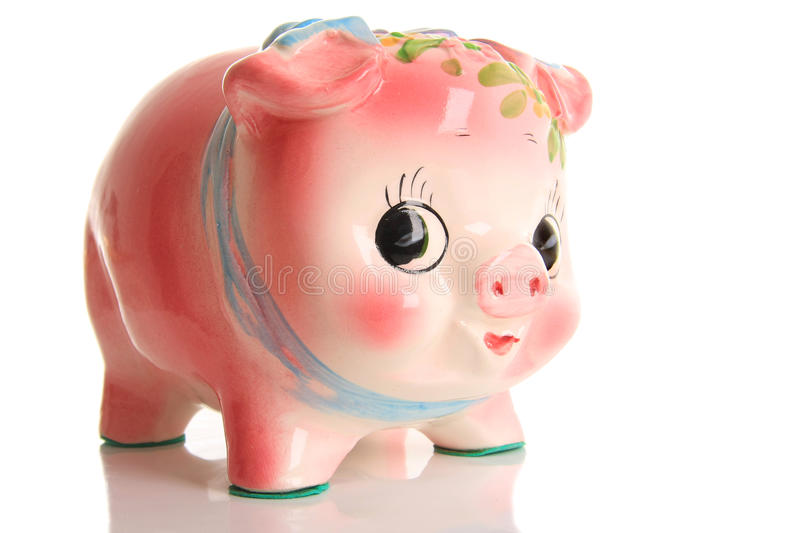 Download Piggy bank stock photo. Image of security, pink, idea - 13583624