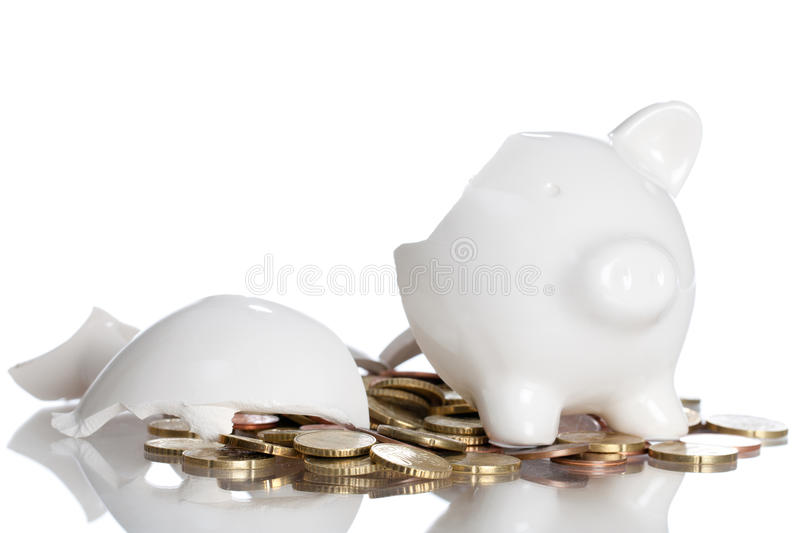 Download Piggy Bank stock photo. Image of economy, breakup, interest - 15141864