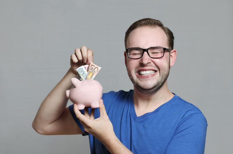 Download Piggy bank stock image. Image of holding, business, economical - 21489825