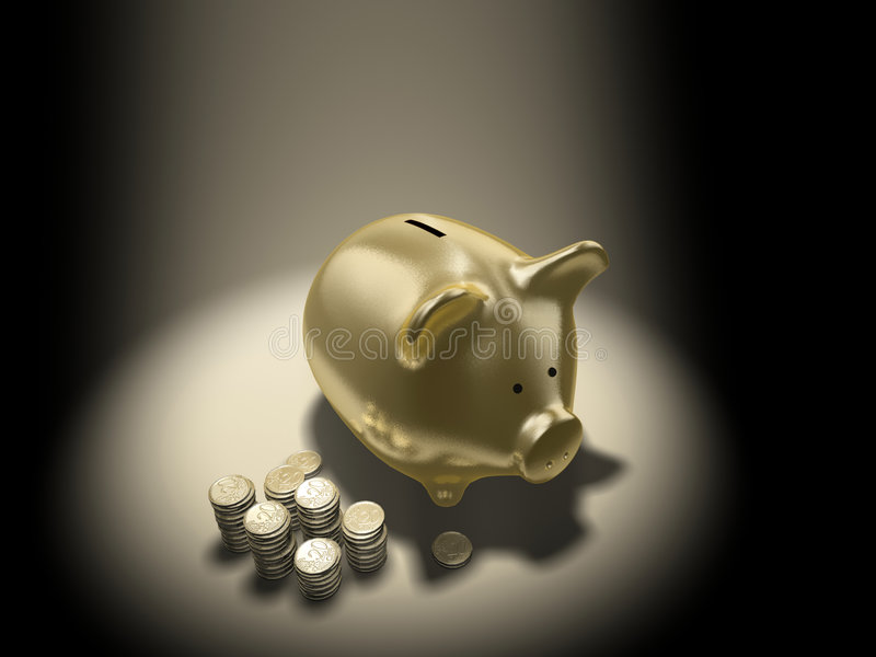 Download Piggy-bank stock illustration. Image of piggy, debit, money - 2318198